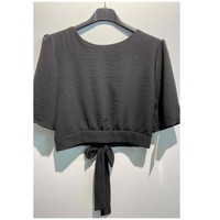 material Women Blouses Fashion brands 5172-BLACK Black