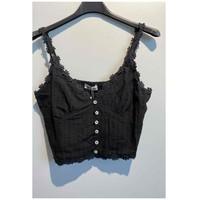 material Women Blouses Fashion brands 6133-BLACK Black
