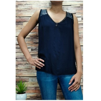 material Women Blouses Fashion brands 2940-BLACK Black