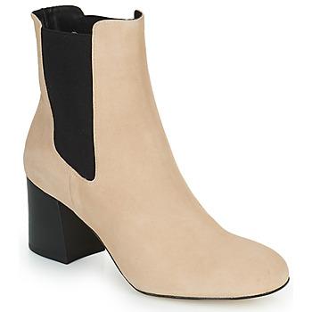 Shoes Women Ankle boots Cosmo Paris LACADO 2 Beige