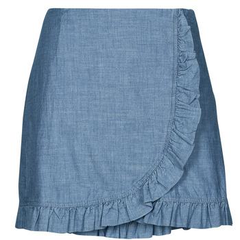 material Women Skirts Vero Moda VMAKELA Blue