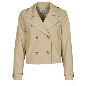 material Women Jackets / Blazers Only ONLSANDIE Beige
