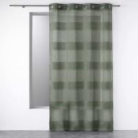 Home Sheer curtains Douceur d intérieur TERRAZA Kaki