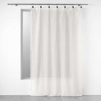 Home Sheer curtains Douceur d intérieur LINKA White