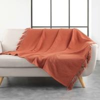Home Blankets, throws Douceur d intérieur ZAMINA Terracotta