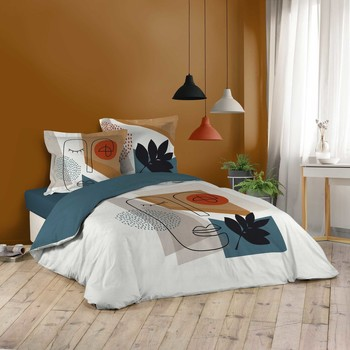 Home Bed linen Douceur d intérieur CUZCO White