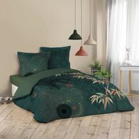Home Bed linen Douceur d intérieur JAPONI Emerald