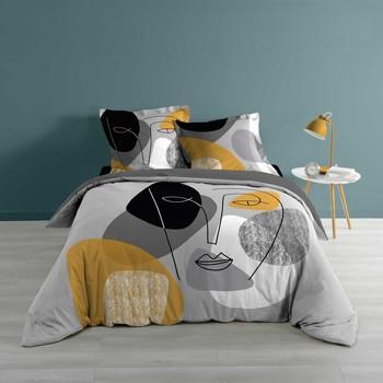 Home Bed linen Douceur d intérieur PRETTY Grey