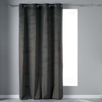 Home Curtains & blinds Douceur d intérieur VELVETINE Grey / Anthracite