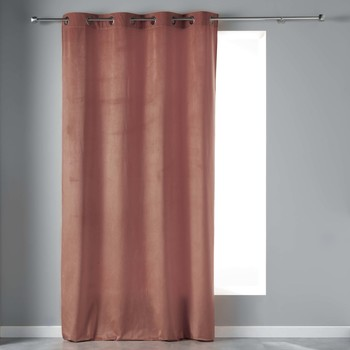 Home Curtains & blinds Douceur d intérieur VELVETINE Pink
