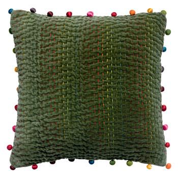 Home Cushions covers Vivaraise GASTOUNET Green