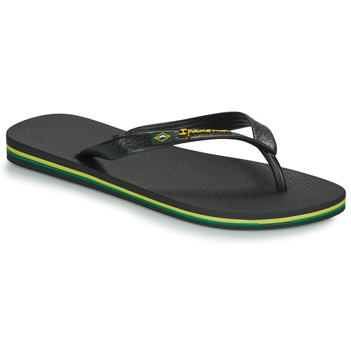 Shoes Men Flip flops Ipanema CLASSICA BRASIL II Black