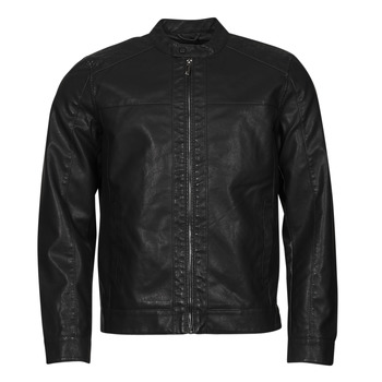 material Men Leather jackets / Imitation le Only & Sons  ONSMIKE Black