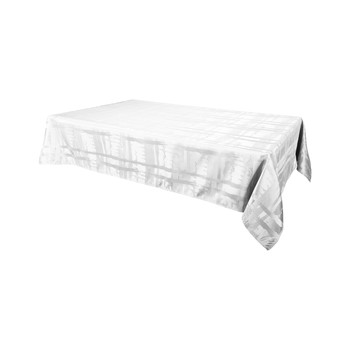 Home Tablecloth Habitable FABIOLA - BLANC - 145X300 CM White