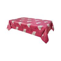 Home Tablecloth Habitable CHANTOU - ROUGE - 140X200 CM Red