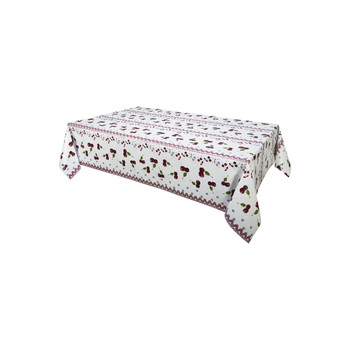 Home Tablecloth Habitable CERISE - ROUGE - 140X200 CM Red