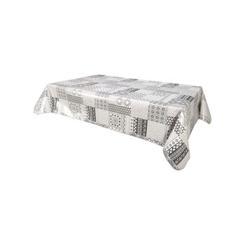 Home Tablecloth Habitable IDALY - GRIS - 140X200 CM Grey