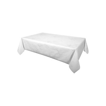 Home Tablecloth Habitable MARBRE - ARGENTÉ - 140X200 CM Silver