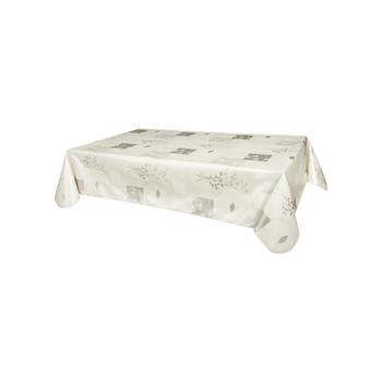 Home Tablecloth Habitable ETAMINES - ARGENTÉ - 140X200 CM Silver