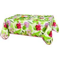 Home Tablecloth Habitable TROPIC - VERT - 140X200 CM Green