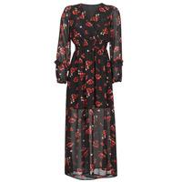 material Women Long Dresses Moony Mood PILAF Black / Red