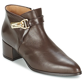 Shoes Women Low boots Marian MARINO Brown