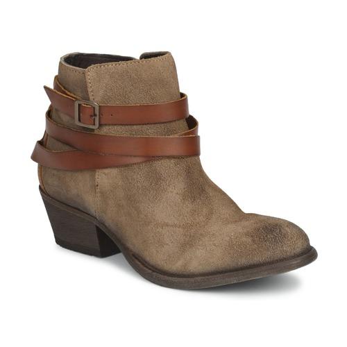 Shoes Women Ankle boots Hudson HORRIGAN Brown