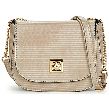 Bags Women Shoulder bags Moony Mood PAGELLE Taupe