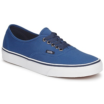 Shoes Low top trainers Vans AUTHENTIC Blue / Dark