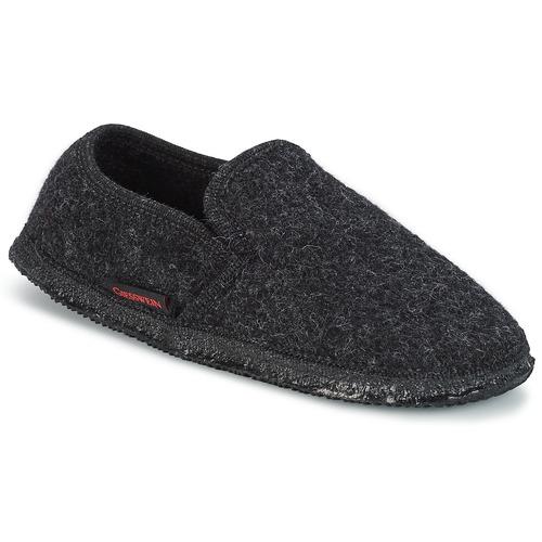 Shoes Men Slippers Giesswein NIEDERTHAL Black