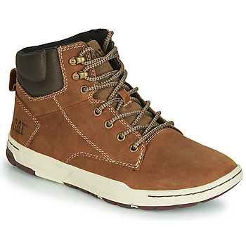 Shoes Men High top trainers Caterpillar COLFAX MID Brown