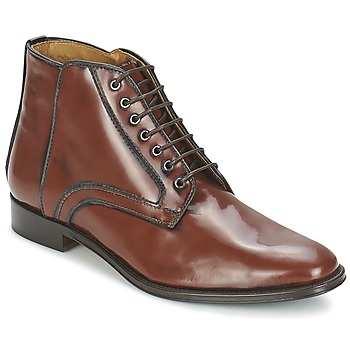 Shoes Women Mid boots Fericelli TAMALORA Brown / Clear