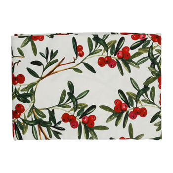 Home Tablecloth Côté Table AIRELLE Red