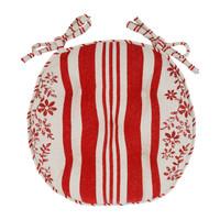 Home Chair cushion Comptoir de famille TAPISSIER Red