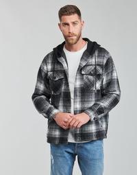 material Men Blouses Yurban  Black / Grey