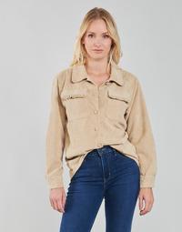 material Women Jackets / Blazers Betty London PATISSONE Beige