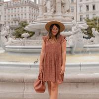 material Women Short Dresses Céleste DAHLIA Multicolour
