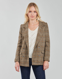 material Women Jackets / Blazers Betty London PANOPI Brown