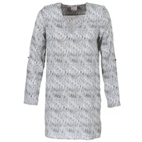 material Women Short Dresses Vero Moda COOLI Black / White