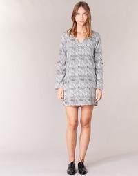 material Women Short Dresses Vero Moda COOLI Black / White