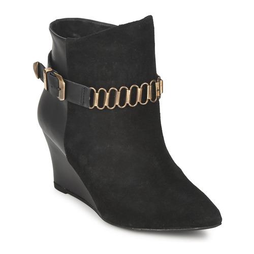 Shoes Women Ankle boots Pastelle ALINE Black