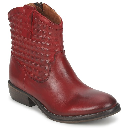Shoes Women Mid boots Pastelle ELSA Bordeaux