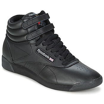 Shoes Women High top trainers Reebok Classic FREESTYLE HI Black