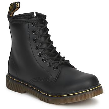 Shoes Children Mid boots Dr Martens DM J BOOT Black