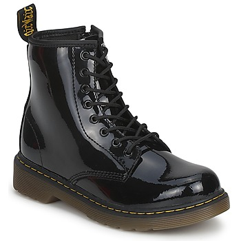 Shoes Children Mid boots Dr Martens DELANEY Black