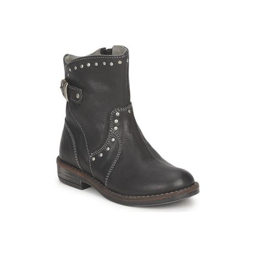 Shoes Girl Mid boots Noel FRANCA Black