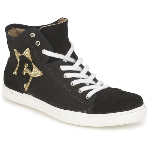 Shoes Women High top trainers Chipie JAVENE DOUDOU Black