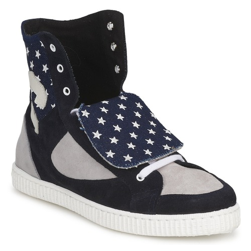 Shoes Women High top trainers Chipie JILIANE Marine / Grey