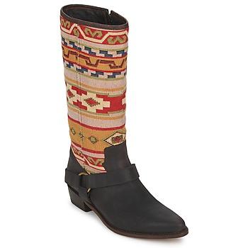 Shoes Women Boots Sancho Boots CROSTA TIBUR GAVA Marron red