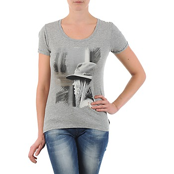 material Women short-sleeved t-shirts School Rag TORI Grey